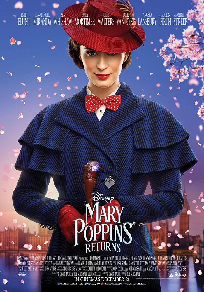 Mary Poppins Returns 2018 2160p 10bit HDR BluRay 8CH x265 HEVC-PSA