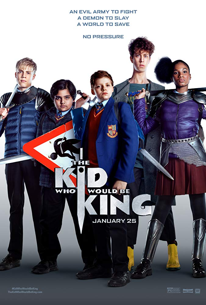 The Kid Who Would Be King 2019 720p HC HDRip 800MB x264-GalaxyRG
