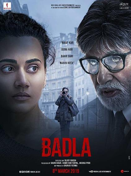Badla (2019) Hindi 720p Pre-CAMRip x264-DLW