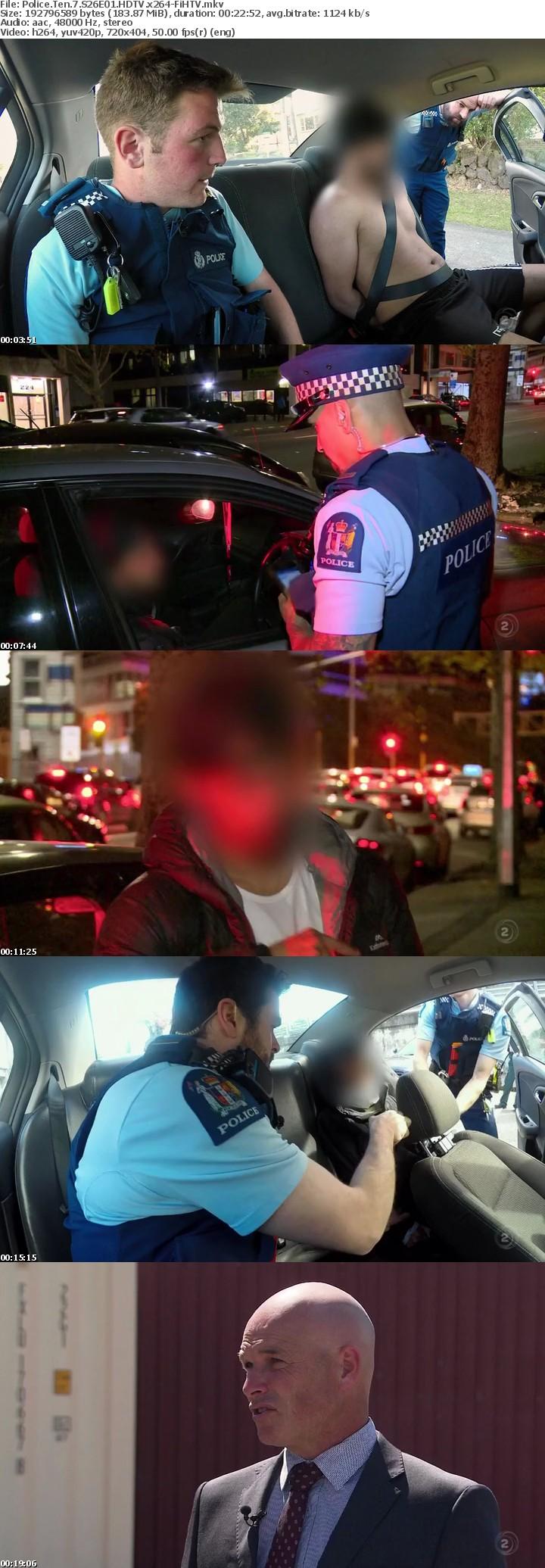 Police Ten 7 S26E01 HDTV x264-FiHTV