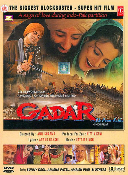 Gadar Ek Prem Katha (2001) Hindi - 720p WEBRip - x264 - AAC -Sun George
