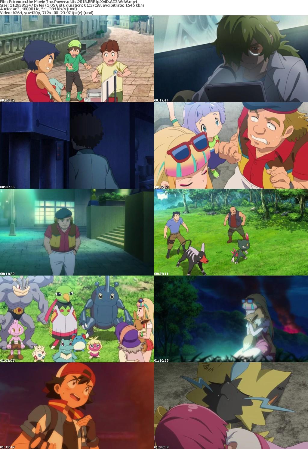 Pokemon the Movie The Power of Us 2018 BRRip XviD AC3 WoW