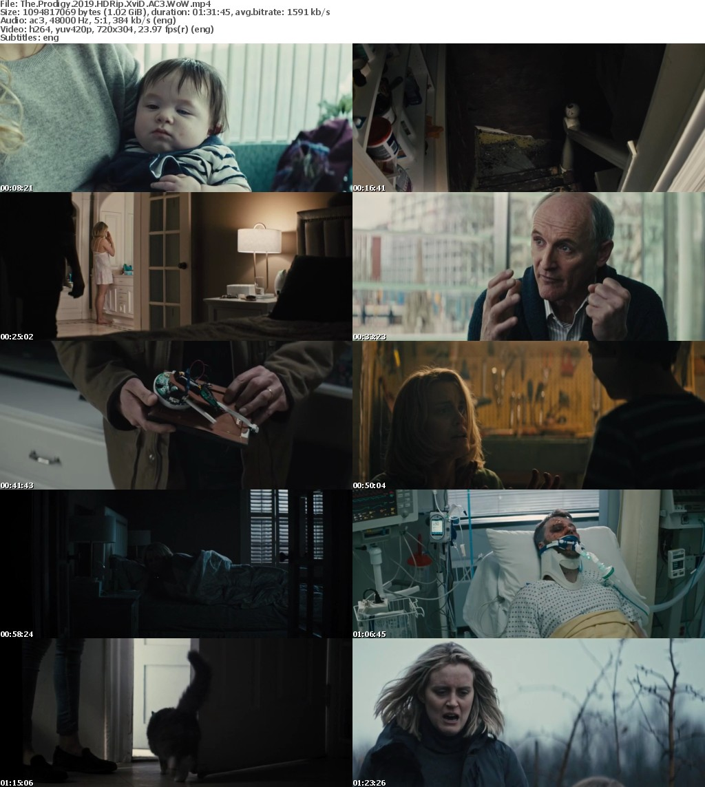The Prodigy 2019 HDRip XviD AC3 WoW