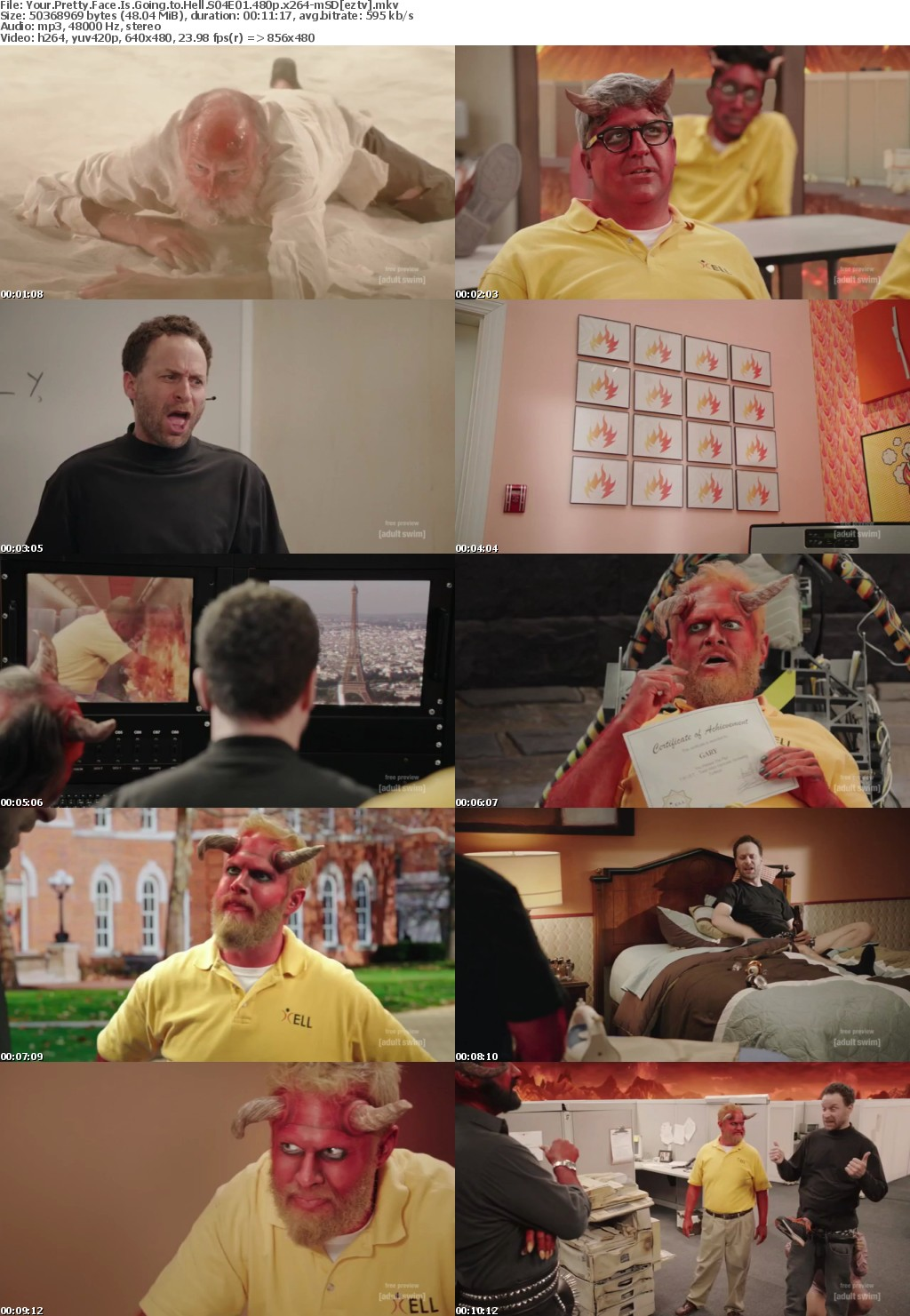 Your Pretty Face Is Going to Hell S04E01 480p x264-mSD