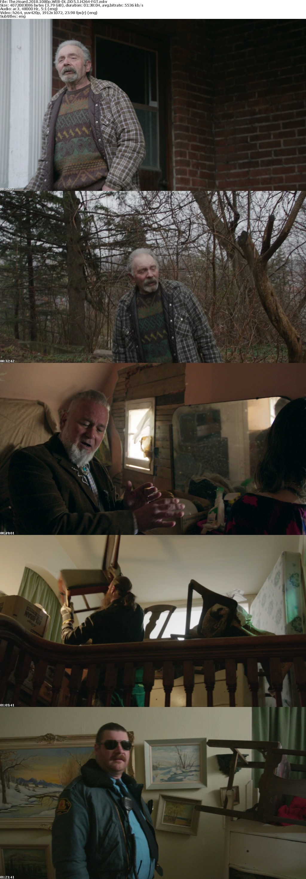The Hoard 2018 1080p WEB-DL DD5 1 H264-FGT