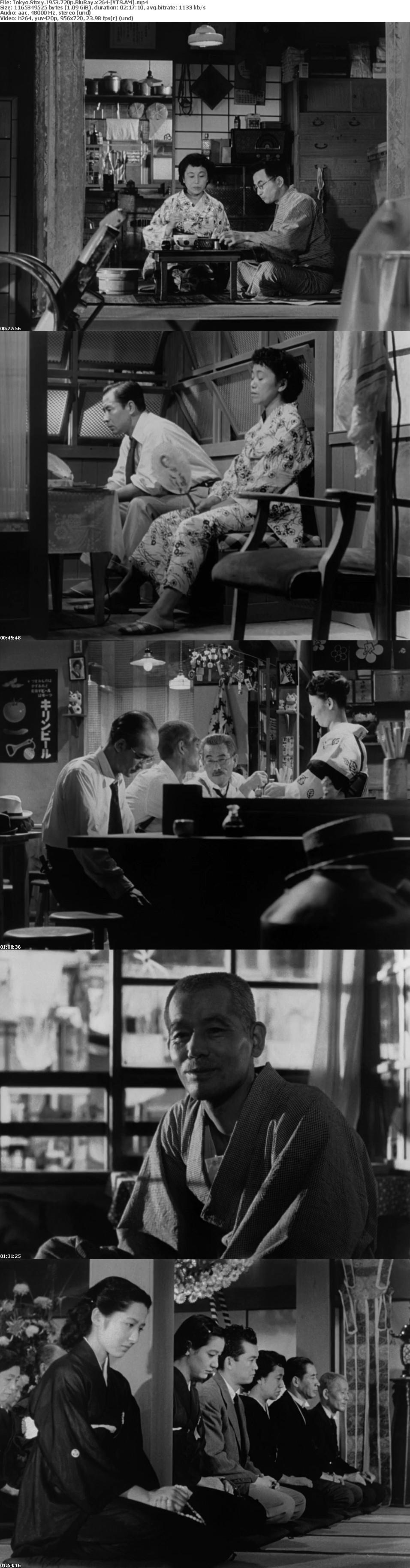 Tokyo Story 1953 [BluRay] [720p] YIFY