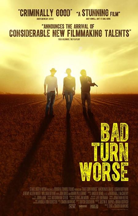 Bad Turn Worse 2013 BRRip XviD MP3-XVID