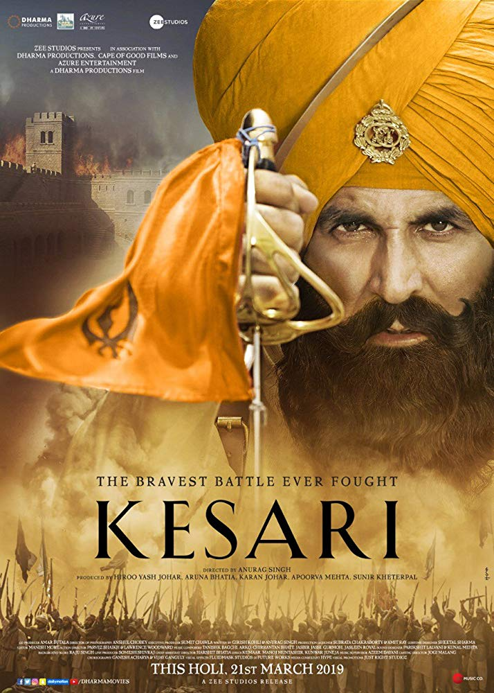 Kesari 2019 Hindi 720p HDRip x264 DD 5 1 1 4GB ESubs[MB]