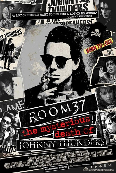 Room 37 The Mysterious Death Of Johnny Thunders 2019 HDRip AC3 x264-CMRG