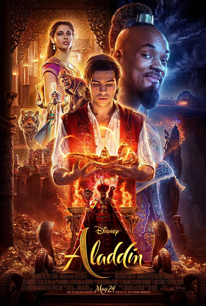 Aladdin (2019) 720p Cam Rip- AVC - AAC - DUSIcTv