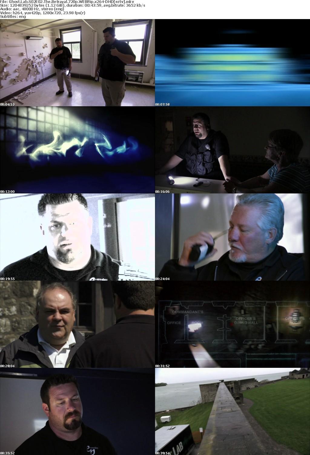 Ghost Lab S02E02 The Betrayal 720p WEBRip x264-DHD