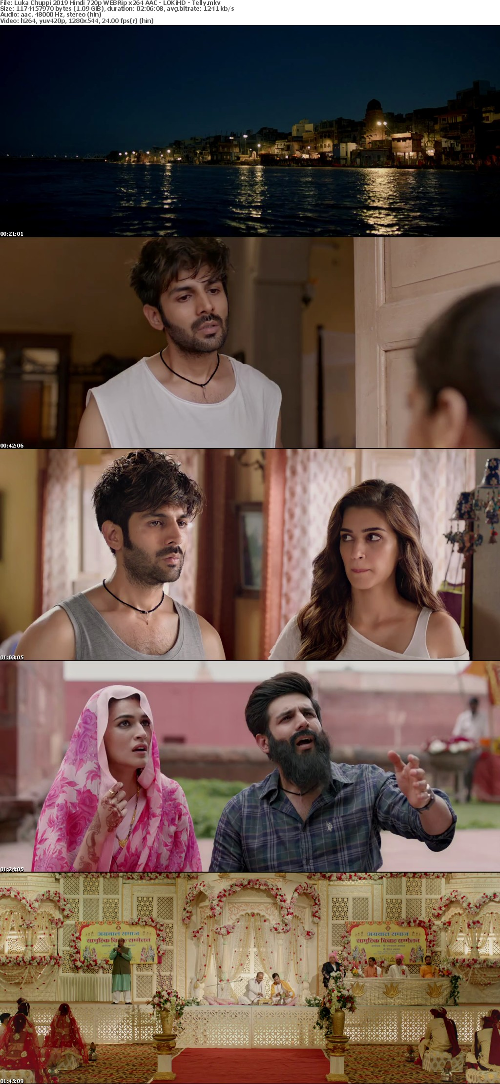Luka Chuppi 2019 Hindi 720p WEBRip x264 AAC - LOKiHD - Telly