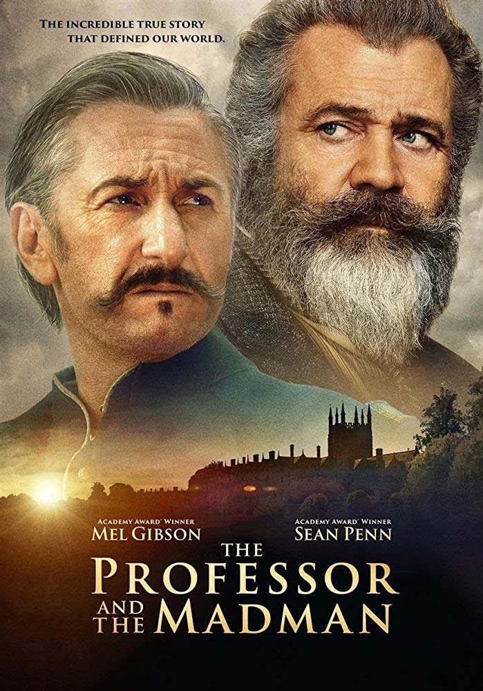 the professor and the madman 2019 BRRip AC3 x264-CMRG