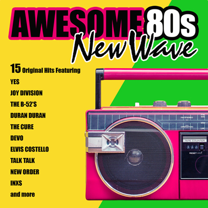 VA - Awesome 80s New Wave (2019) MP3 [320 kbps]