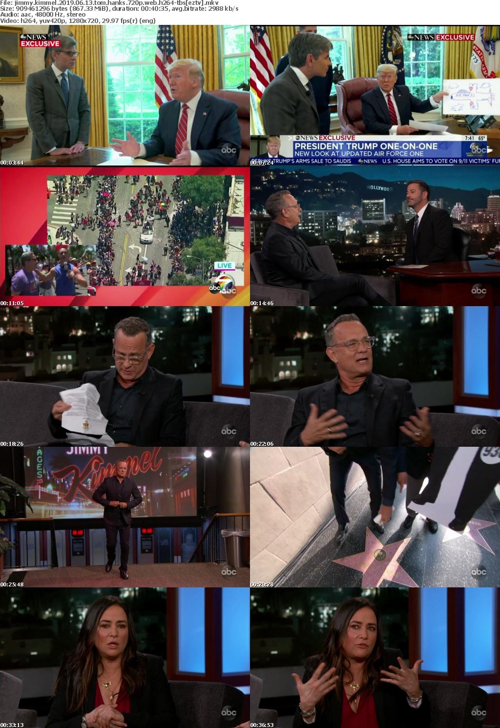 Jimmy Kimmel 2019 06 13 Tom Hanks 720p WEB h264-TBS