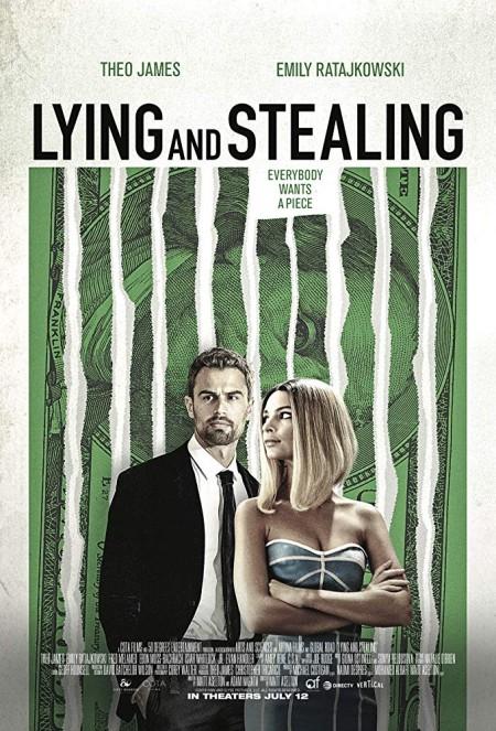 Lying and Stealing (2019) 720p WEBRip 800MB x264 GalaxyRG