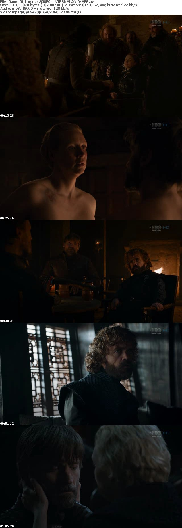Game Of Thrones S08E04 iNTERNAL XviD-AFG