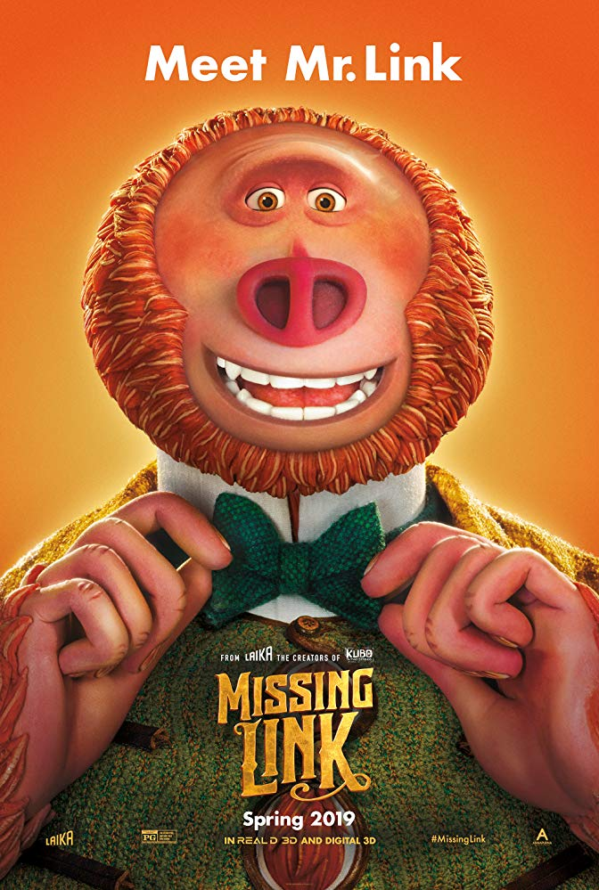 Missing Link 2019 720p BluRay x264-AAA