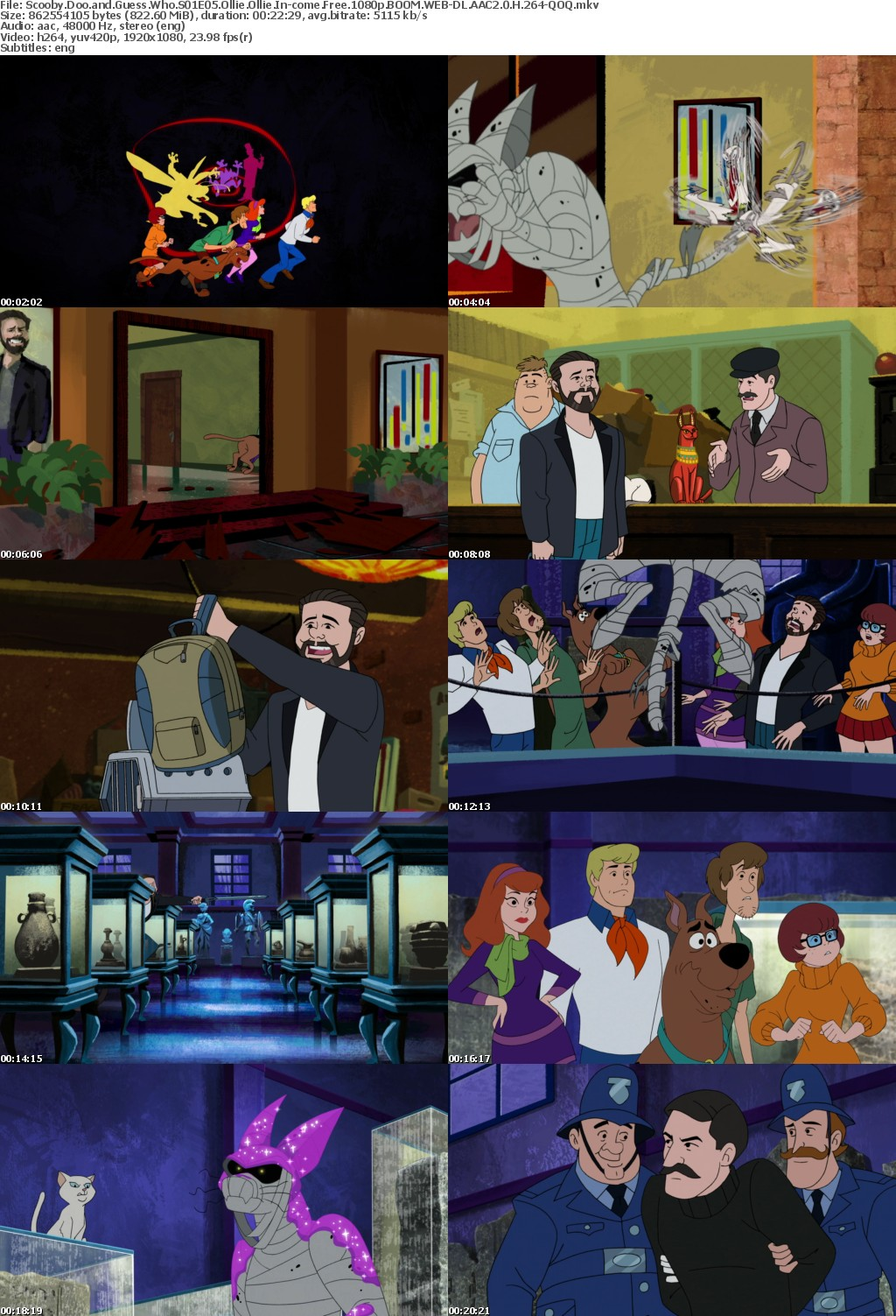 Scooby Doo and Guess Who S01E05 Ollie Ollie In-come Free 1080p BOOM WEB-DL AAC2 0 H 264-QOQ