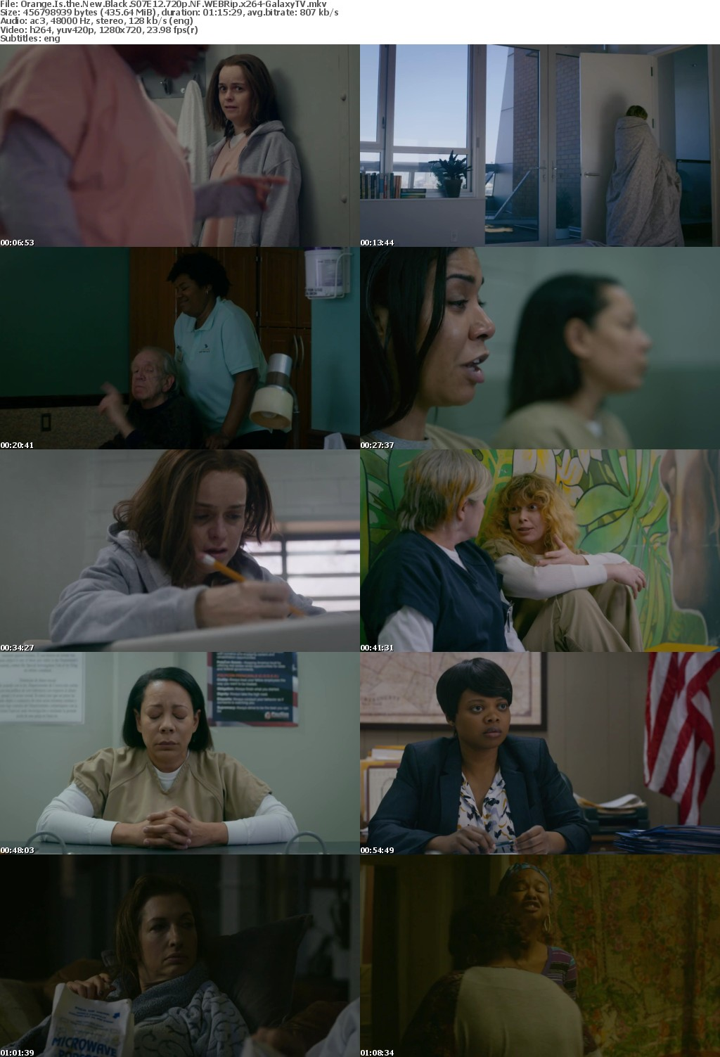 Orange Is the New Black S07 COMPLETE 720p NF WEBRip x264-GalaxyTV