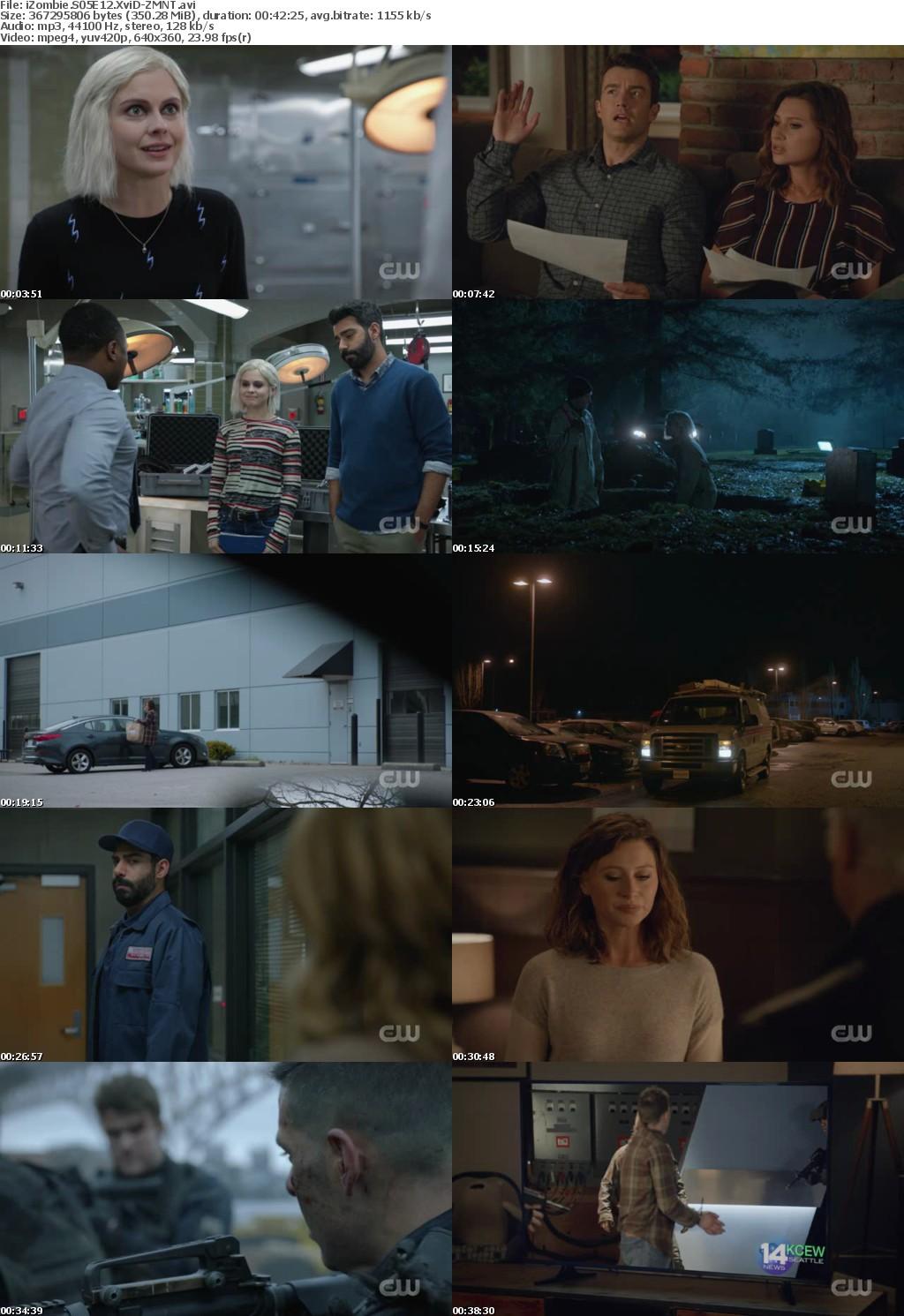 iZombie S05E12 XviD-ZMNT