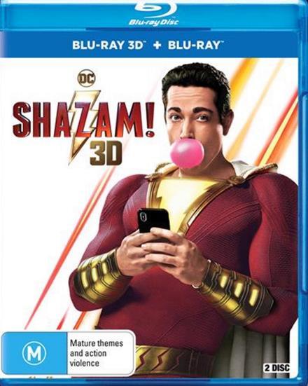 Shazam (2019) 3D HSBS 1080p BluRay x264-YIFY