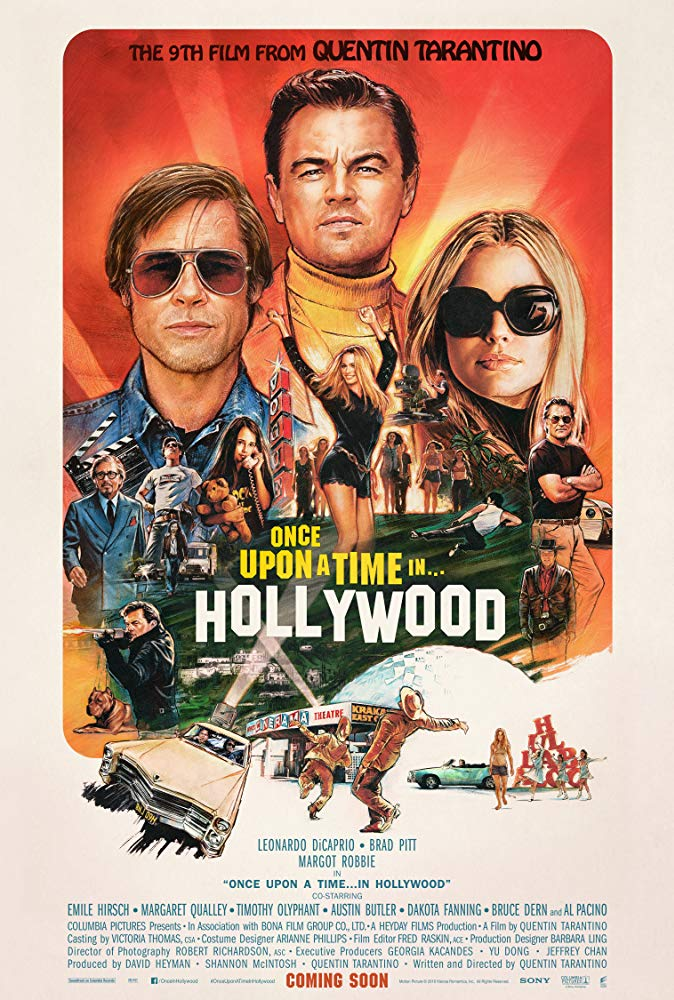 Once Upon a Time in Hollywood 2019 HDCAM 720p BLURRED ADS-FrangoAssado