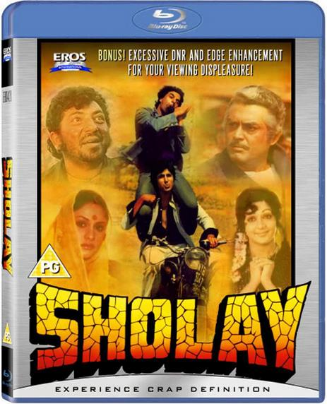 Sholay (1975) Hindi 1080p BluRay x264 AC3 ESub Hindi 4.50GB  DLW