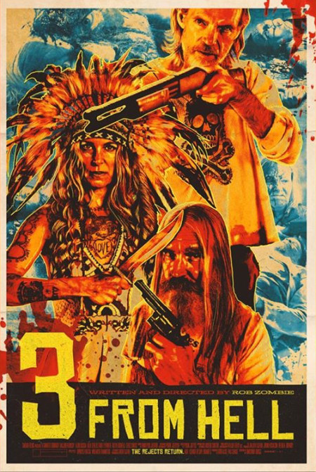 3 from Hell 2019 UNRATED REPACK 720p BluRay 800MB x264 GalaxyRG