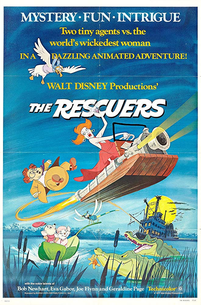 The Rescuers 1977 [BluRay] [720p] YIFY