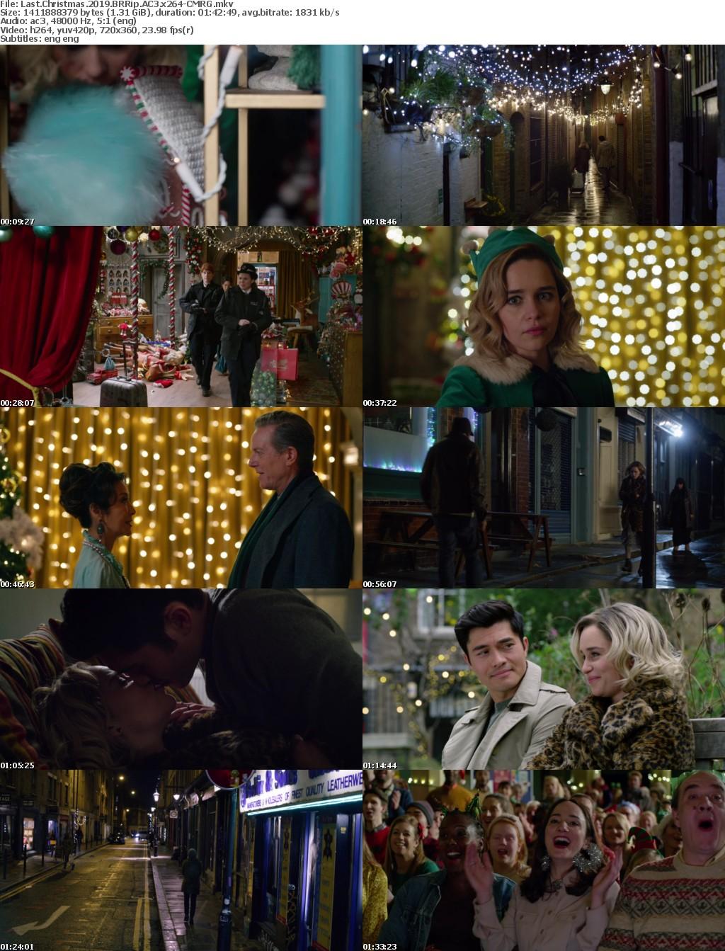 Last Christmas (2019) BRRip AC3 x264-CMRG