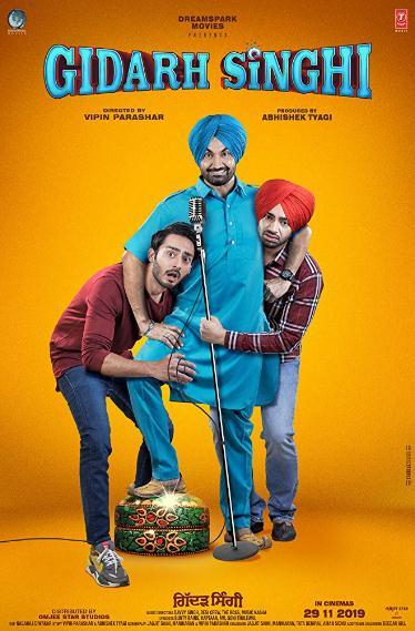 Gidarh Singhi (2019) Punjabi 720p Amzn WEB DL x264 AAC ESUB 900MB-CV