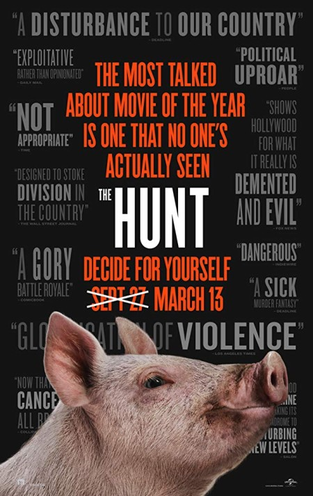 The Hunt (2020) HDRip XviD B4ND1T69