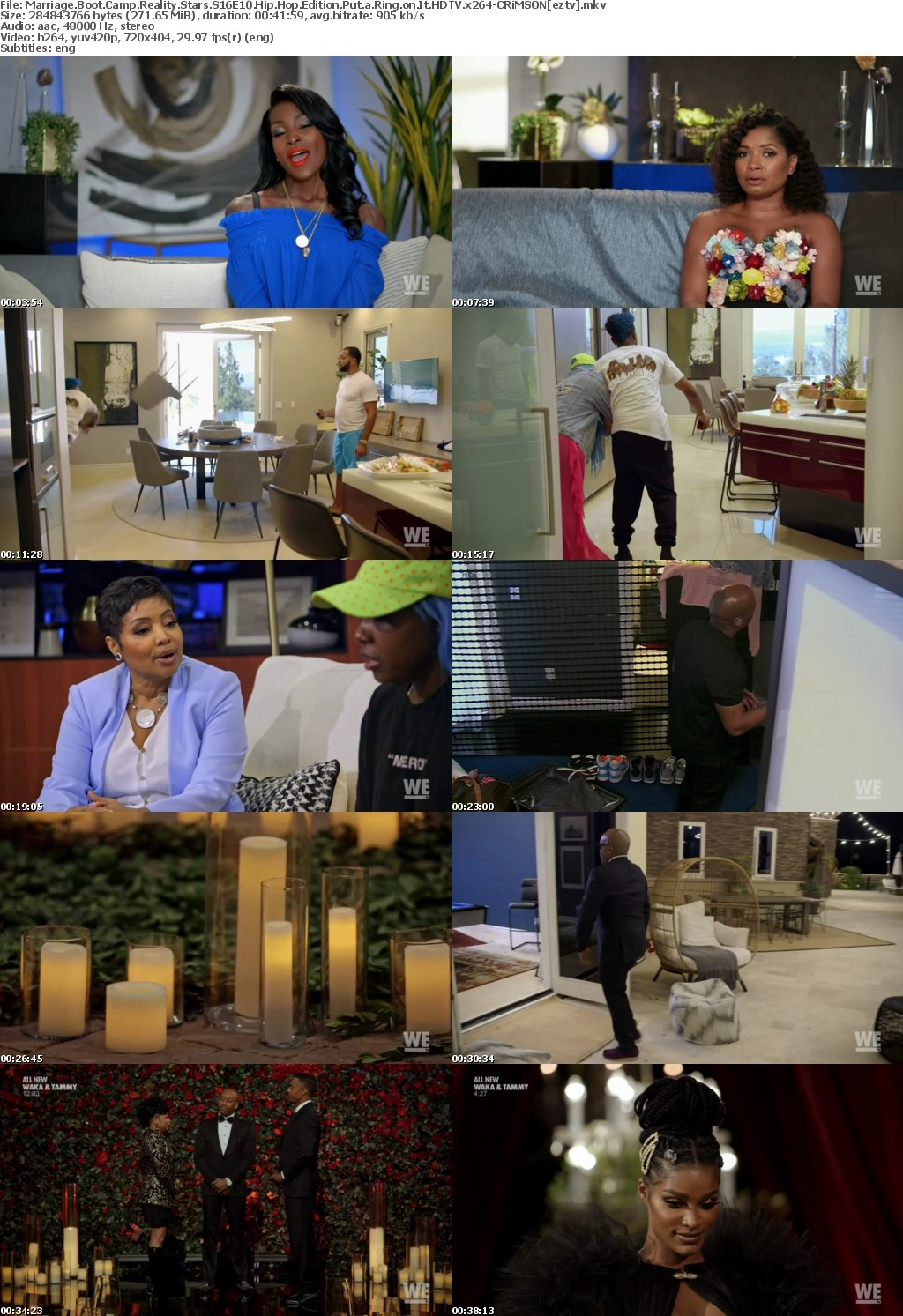 Marriage Boot Camp Reality Stars S16E10 Hip Hop Edition Put a Ring on It HDTV x264-CRiMSON