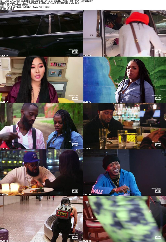 Black Ink Crew S08E24 Nikos Going to Have a Cousin HDTV x264-CRiMSON