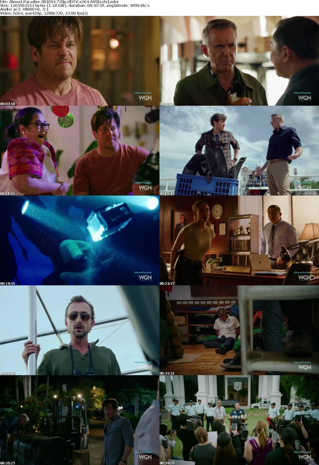 Almost Paradise S01E04 720p HDTV x264-AVS