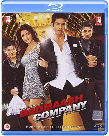 Badmaash Company (2010) Hindi 720p BluRay x265 HEVC ESubs-DLW