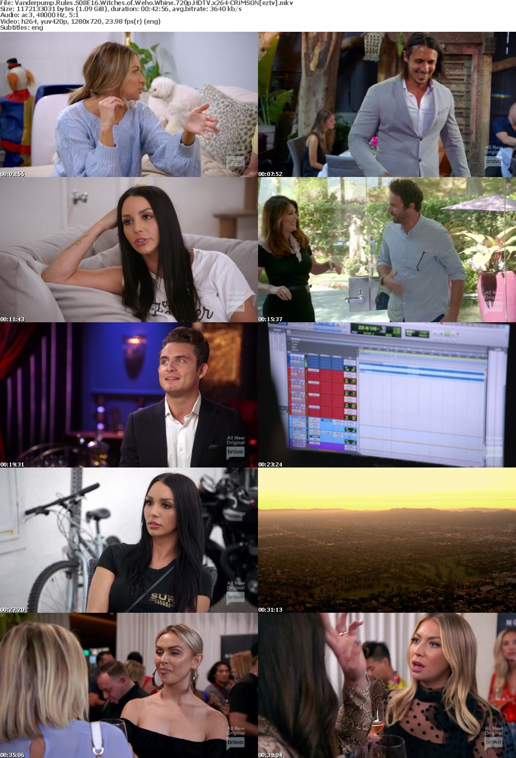 Vanderpump Rules S08E16 Witches of Weho Whine 720p HDTV x264-CRiMSON