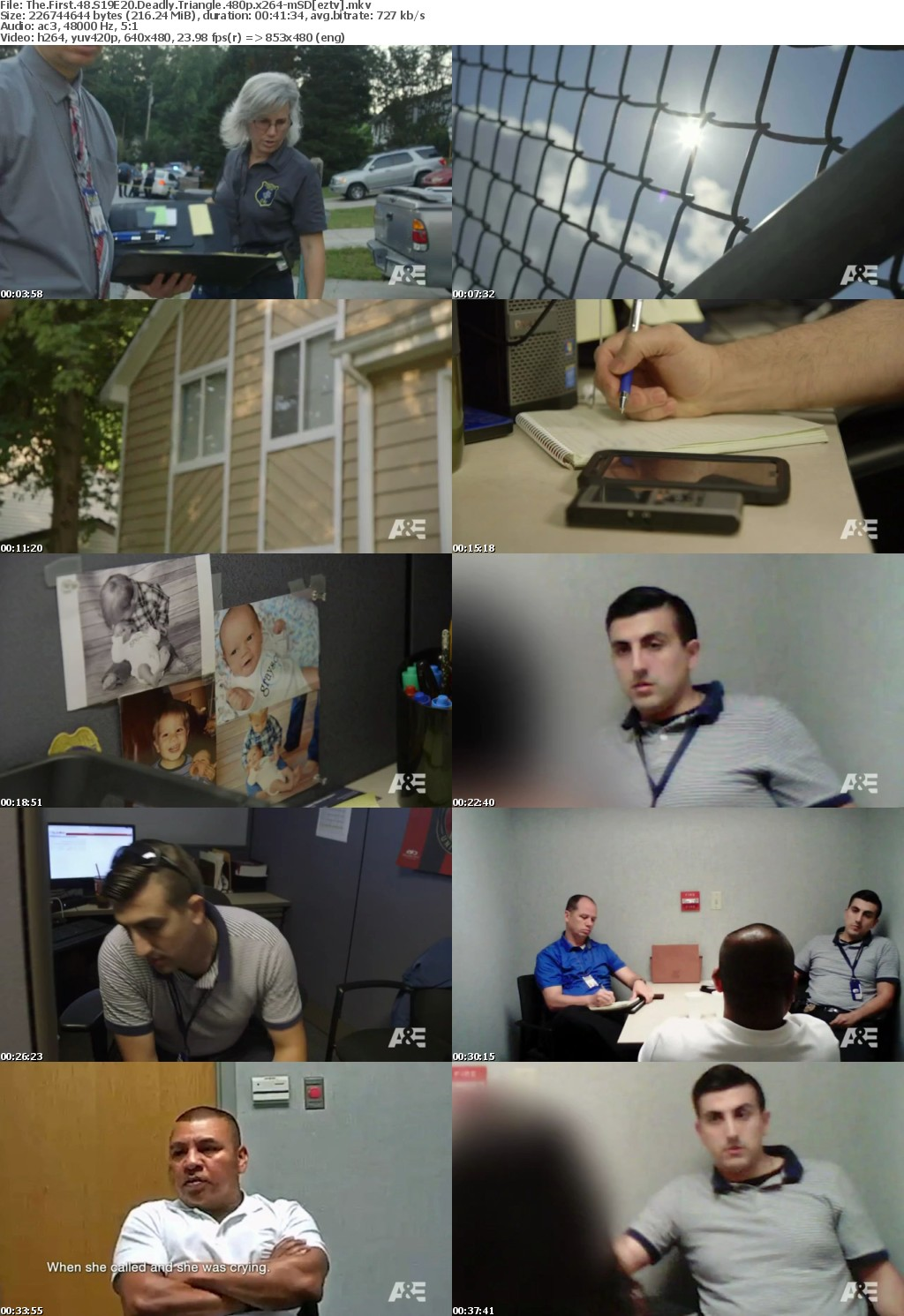 The First 48 S19E20 Deadly Triangle 480p x264-mSD