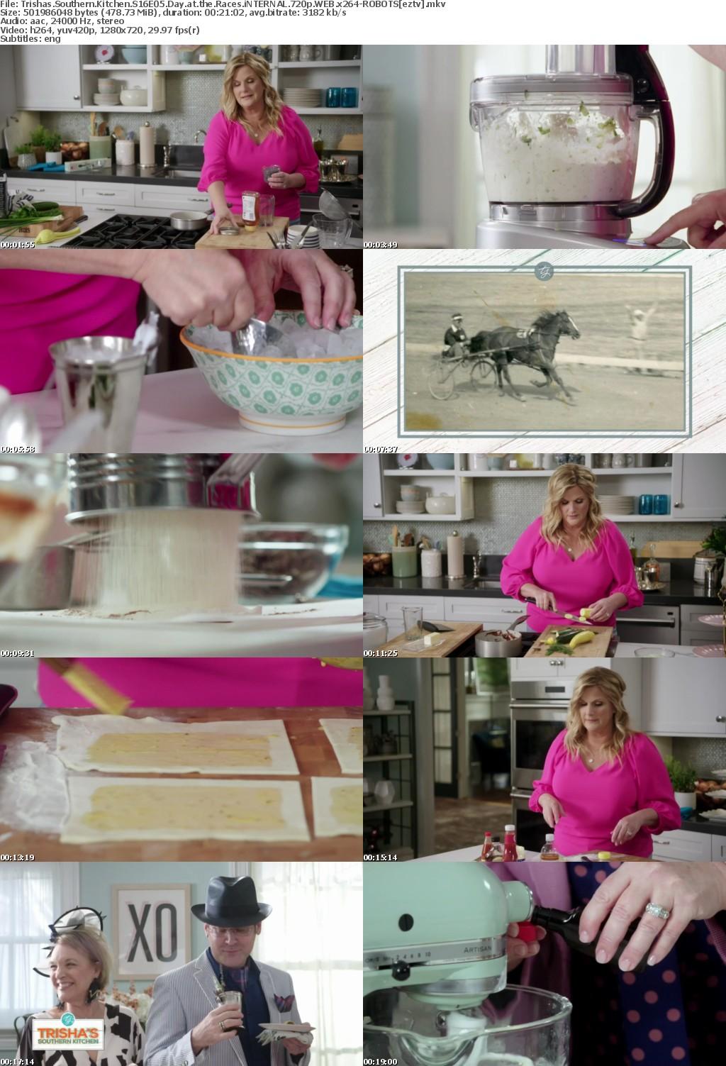 Trishas Southern Kitchen S16E05 Day at the Races iNTERNAL 720p WEB x264-ROBOTS