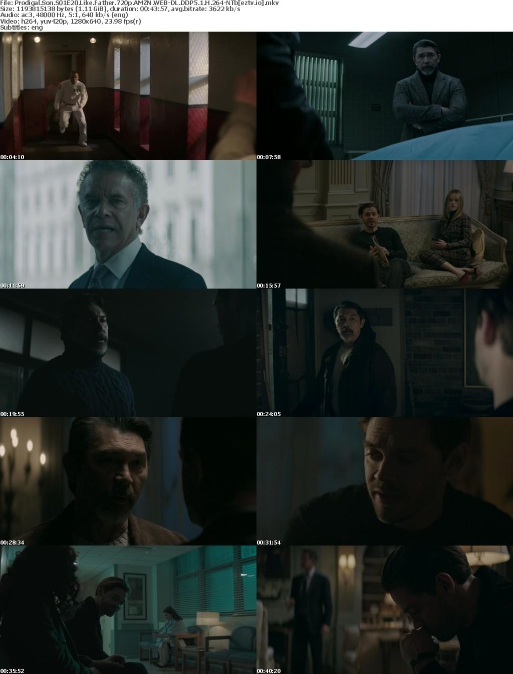 Prodigal Son S01E20 Like Father 720p AMZN WEB-DL DDP5 1 H 264-NTb