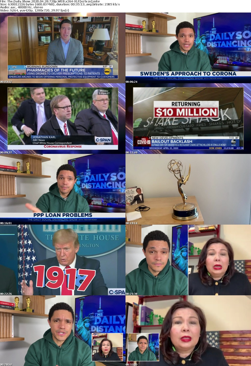 The Daily Show 2020 04 28 720p WEB x264-XLF