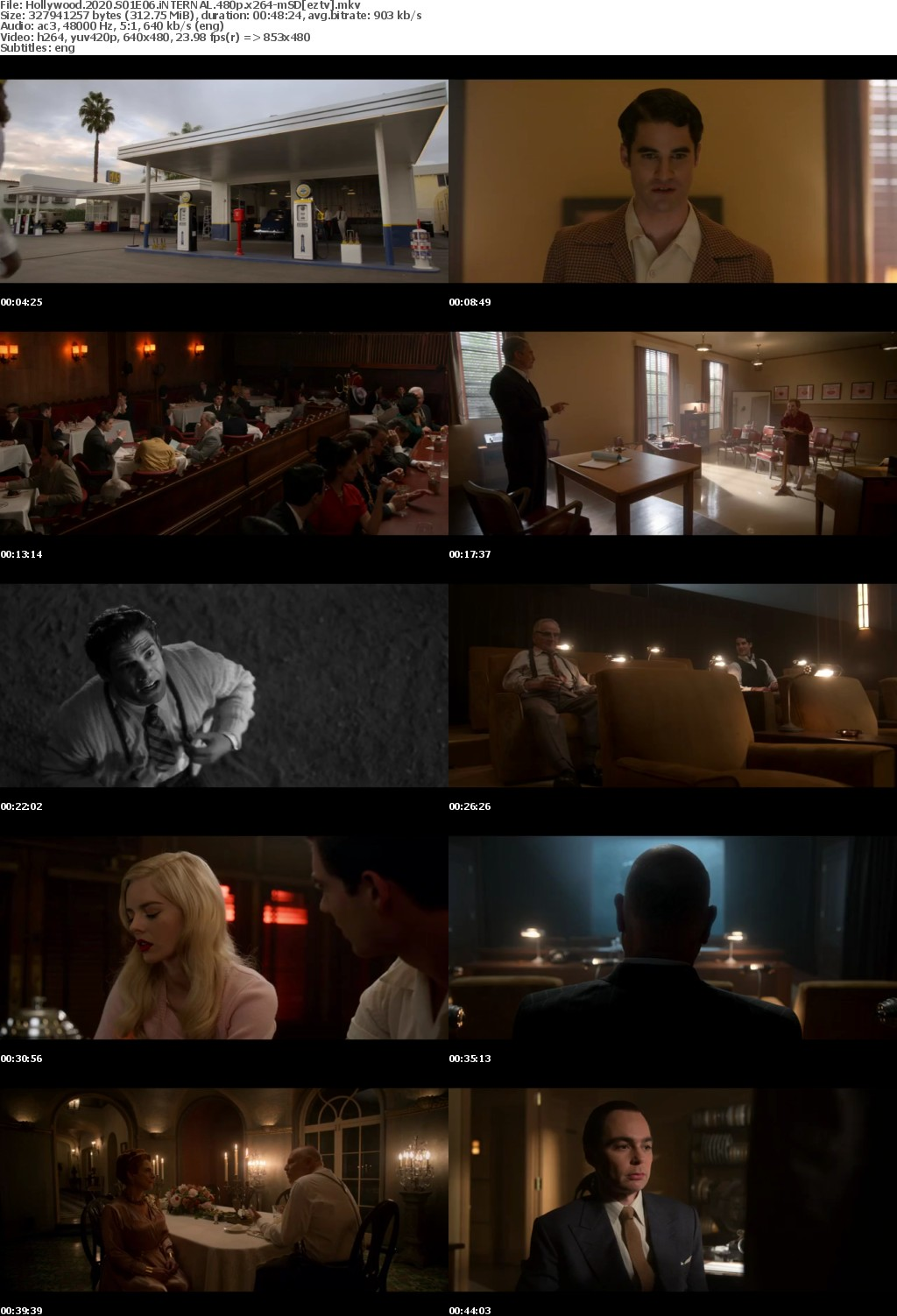 Hollywood 2020 S01E06 iNTERNAL 480p x264-mSD
