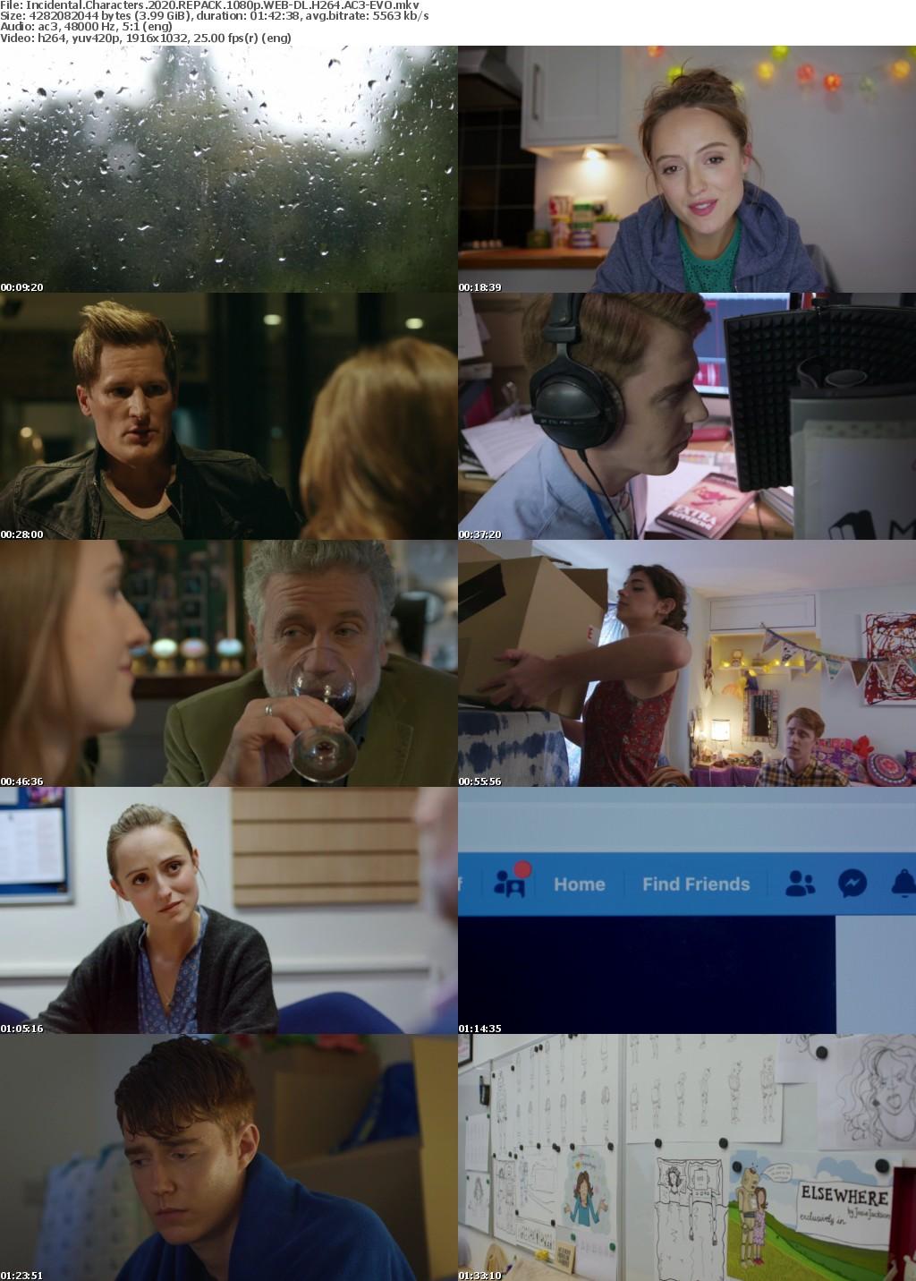 Incidental Characters (2020) REPACK 1080p WEB-DL H264 AC3-EVO