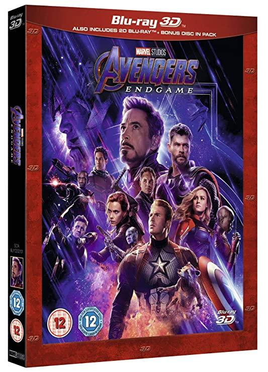 Avengers Endgame (2019) 3D HSBS 1080p BluRay x264-YTS
