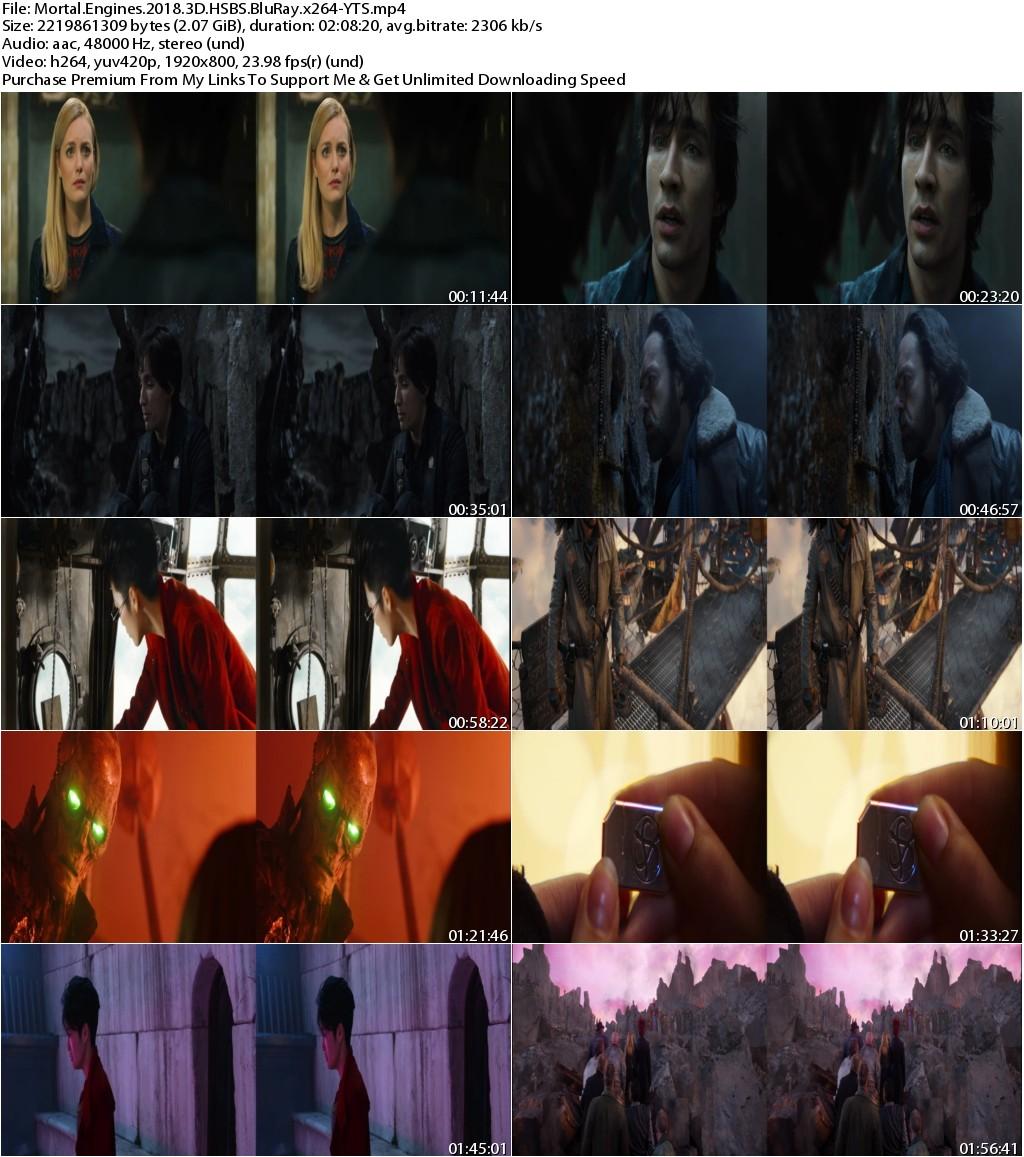 Mortal Engines (2018) 3D HSBS 1080p BluRay x264-YTS