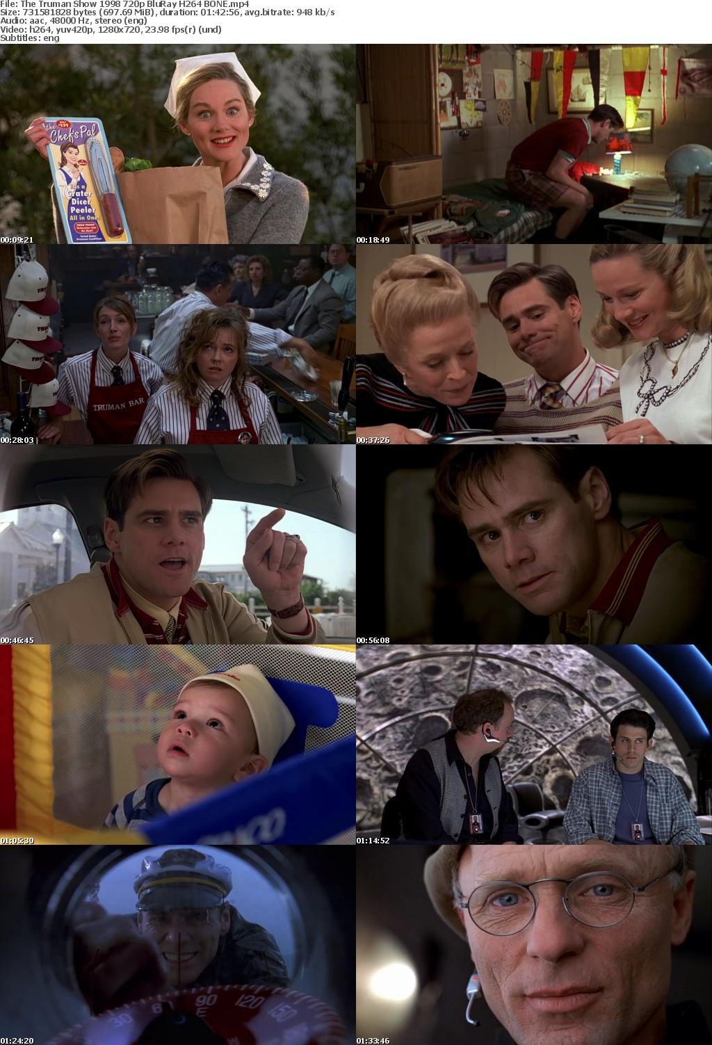 The Truman Show (1998) 720p BluRay H264 BONE