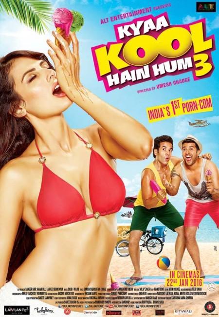 Kyaa Kool Hain Hum 3 (2016) Hindi - 720p WebRip - AAC 5 1 - ESubs - Sun George - DrC (Requested)- 13 Aniversary Release