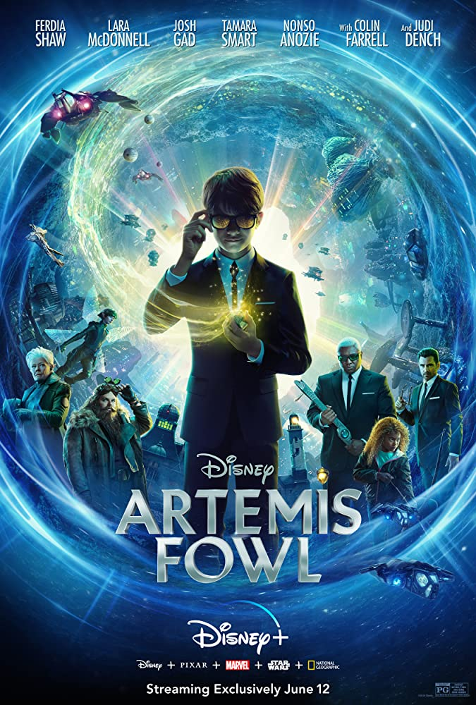 Artemis Fowl 2020 720p 10bit WEBRip 6CH x265 HEVC-PSA