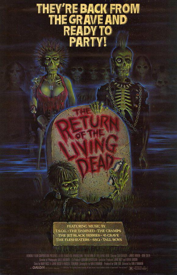 The Return of the Living Dead 1985 REMASTERED 1080p BluRay x265-RARBG